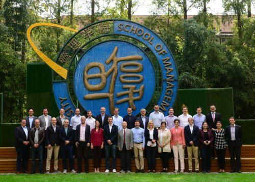 Der EMBA der Universität Zürich auf Studienreise in Shanghai: Wandel und Innovation