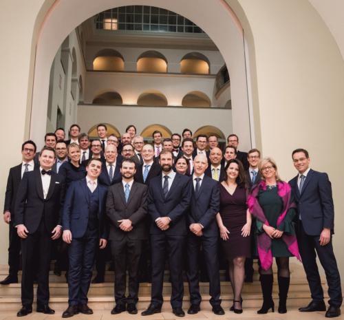 Abschlussfeier Lehrgang 2016-2018 Executive MBA Universität Zürich