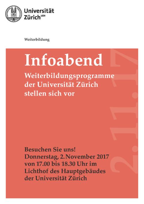 Weiterbildungsabend der Universität Zürich