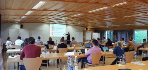Outdoor-Teamaktivitäten Lehrgang International Management 2020-2022