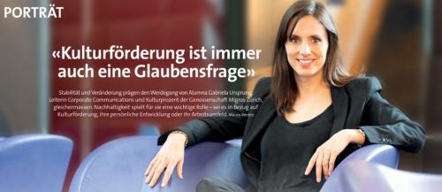 Spannendes Porträt unserer EMBA Alumna Gabriela Ursprung im Oec. Magazin
